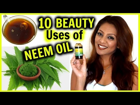 10 Beauty Uses of NEEM OIL! │ Acne. Hair Growth & Frizz. Dark Spots. Blackheads. & More!