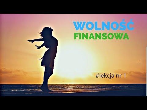 Moja Droga Do Finansowej Wolności #lekcja Nr 1