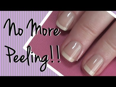 How I Fixed My Peeling Nails!  Nail Care Video by ArcadiaNailArt