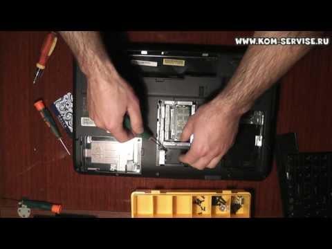 Инструкция по разборке. сборке и чистки от пыли ноутбука eMachines g630. Замена термопасты.