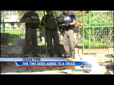 Middle East on the Brink:  Israel and Hamas Agree to Cease-Fir