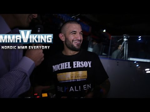 Michel Ersoy Superior Challenge 11 Post Fight Interview