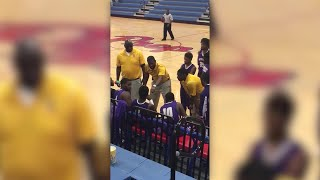 Viral video clip shows coach with basketball players from the MS School for the Deaf.
