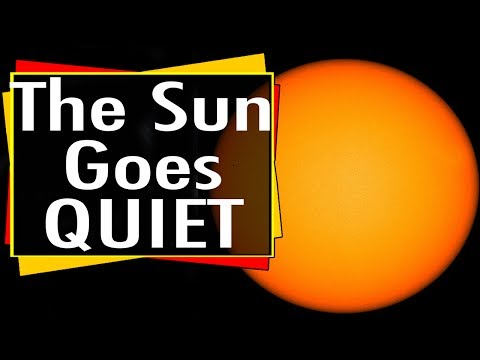 The Sun Goes Quiet: Solar Minimum is Coming
