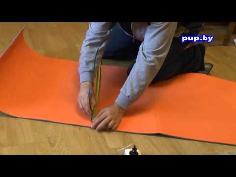 Как сделать туристический коврик своими руками