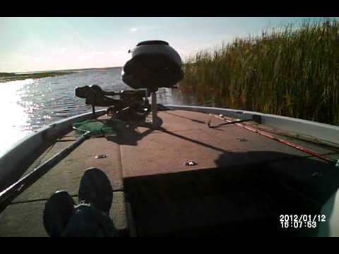 Lake Kissimmee boat ride  looking for a spot to fish