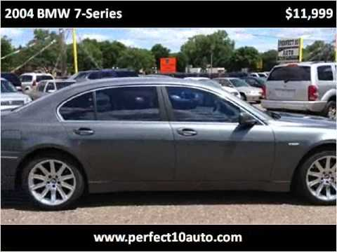 2004 BMW 7-Series Used Cars Spring Lake Park MN