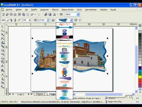 CorelDraw X3 - Fundido de imágenes