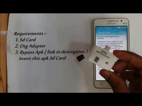 Disable | Bypass Google Account Lock on any Samsung phone ( FRP Bypass )