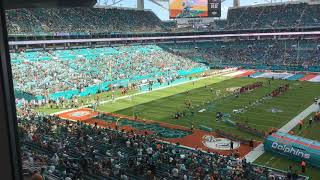 Eagles fans loudly boo Dolphins ... in Miami