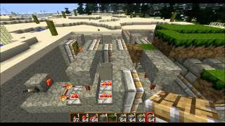 play minecraft geheimgang geheimversteck sand gravel. Black Bedroom Furniture Sets. Home Design Ideas