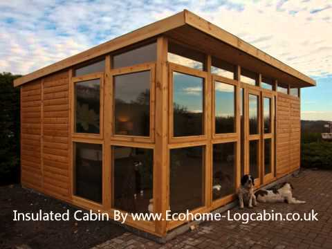 How To insulate your Shed, Garden Room, Home office, outdoor Workshop or Log Cabin
