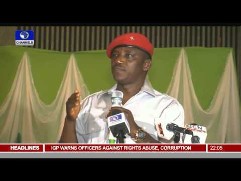 News@10: President Buhari Alleges Theft & Sabotage In Power Sector 24/11/15 Pt 1