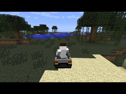 Как сделать машину в Minecraft PE 0.9.5 (без модов