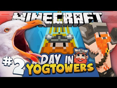 Minecraft - A Day At Yogtowers #2 - Fridge Tax video
