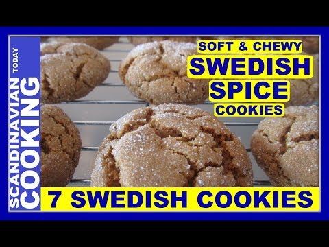 How To Make Swedish Spice Cookies