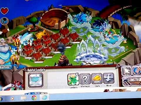 Dragon City Dragão Puro e Puro Dragon City 100
