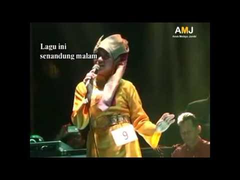 Lagu Jambi  :  Senandung Malam (With Lirik)