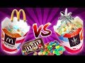 McDONALDS McFLURRY vs HOMEMADE - Pig Fat Ice Cream Myth? BUSTED!
