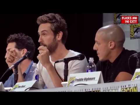 Comic Con 2014 Brave New Warriors Panel - Tom Mison, Freddie Highmore, Jon Bernthal, Theo Rossi