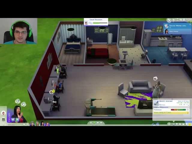 The Sims 4 Oynuyoruz Bölüm 10: Behlül Kaçar