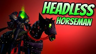 The Horseman Rides: Hallow's End is Nigh! | World of Warcraft Battle for Azeroth