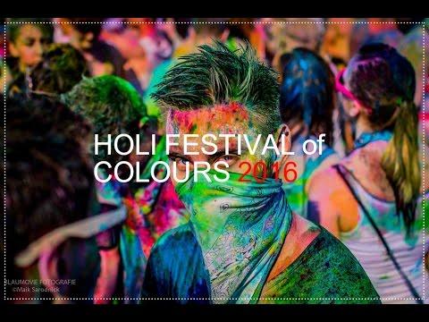 Holi Festival of Colours 2016 Aftermovie [4K]
