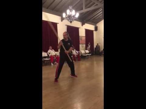 Kung Fu staff form