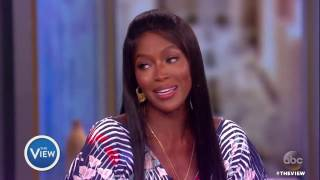 Naomi Campbell Talks Working With George Michael, New Year