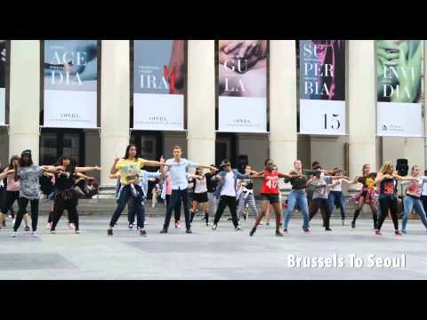 Kpop Flashmob Dance Cover - Snsd, Super Junior, T-ara And More video