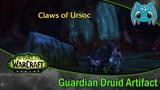 World Of Warcraft Legion | Guardian Druid Artifact Quest!!
