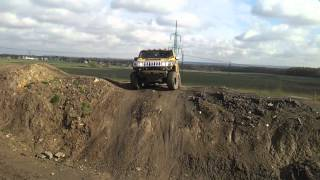 Hummer H2 Off roading in mud II.