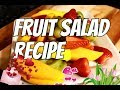 Valentin's Day -The Perfect Fresh Fruit Salad For Valentin's Day | Chef Ricardo Cooking