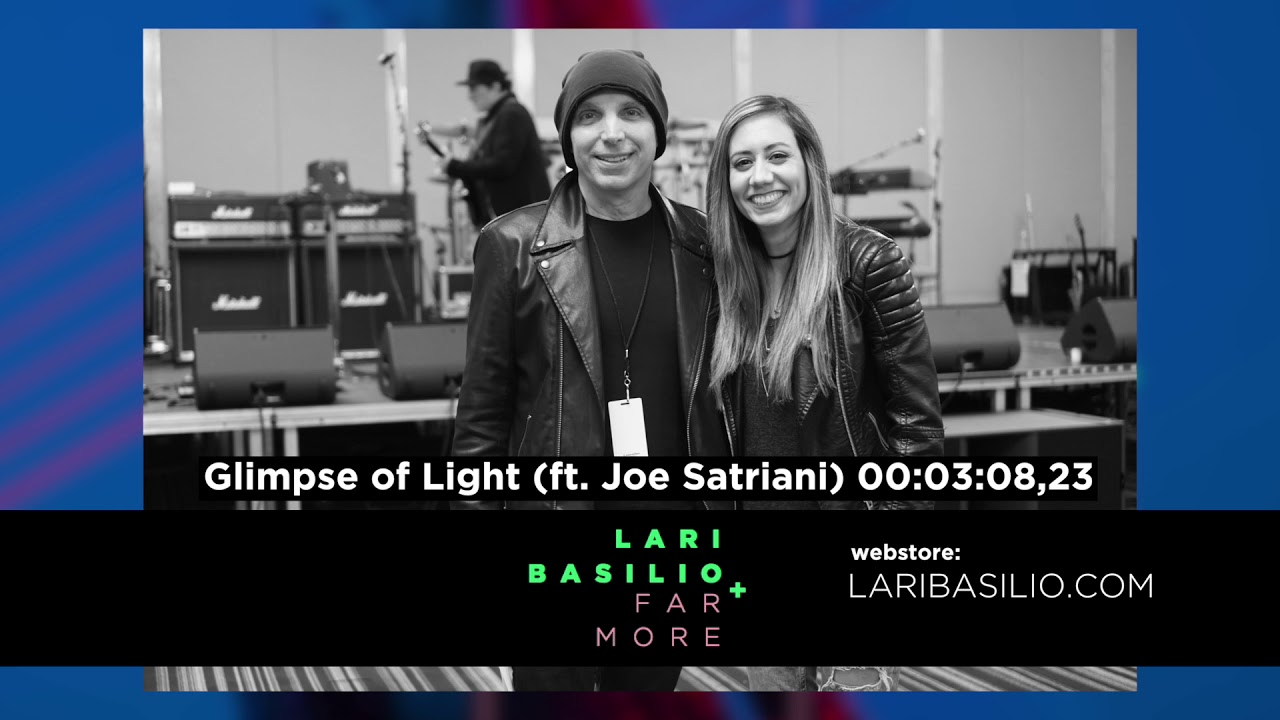 "Lari Basilio - ""Not Alone""のMVと""Glimpse of Light (feat. Joe Satriani)""のPREVIEW音源公開 新譜「Far More」2019年8月30日配信開始 thm Music info Clip"