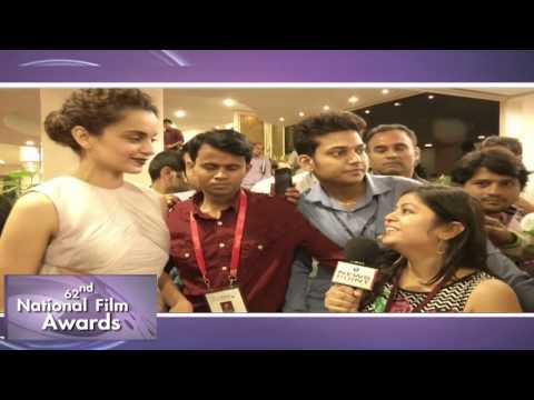 62nd #NationalFilmAwards: Best Actress Awardee Ms. Kangana Ranaut