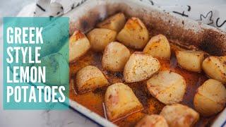 Greek Style Lemon Potatoes   GCBC12 Ep15