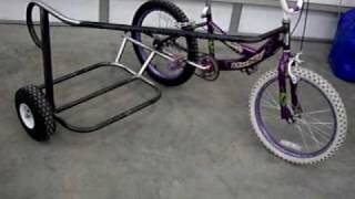 "20"" sidehack build. BMX bicycle, detail and measurements."
