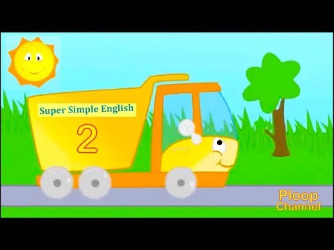 Learn English for Kids #2 - TRUCK - Super Simple School! - Videos for Children