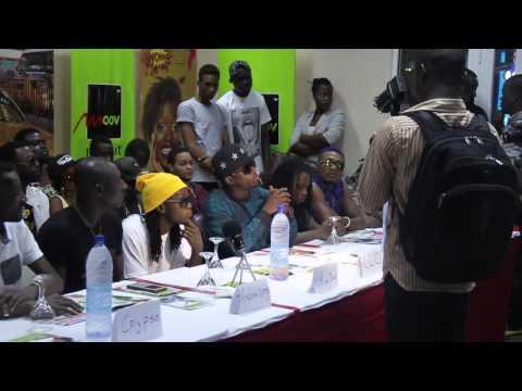 Conférence De Presse Kiff No Beat - Cotonou video