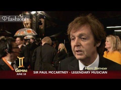 Happy Birthday Paul McCartney! June 18 | FashionTV