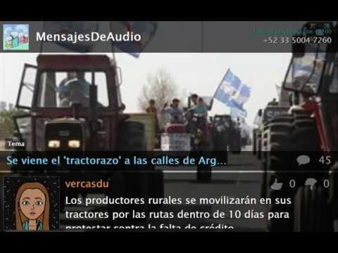 Se viene el 'tractorazo' a las calles de Argentina