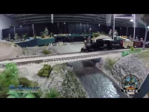 First Coast Model Railroad Society Florida Rail Fair Deland Jan 11th 2015