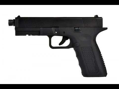 Unboxing Echo1 Lone Wolf Licensed Timberwolf Glock Airsoft Gas Blowback Pistol