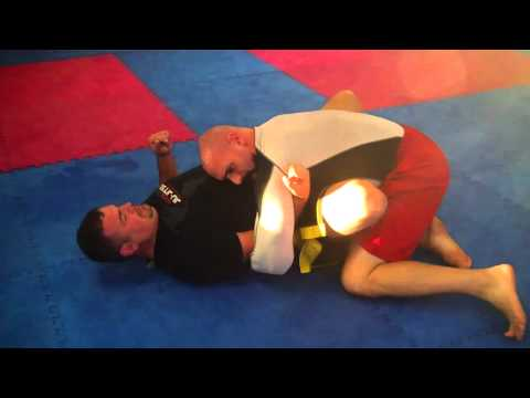 NO GI BUTTERFLY GUARD PASS-MOUNT ESCAPE Image 1
