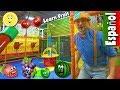 Aprende la Frutas con Blippi Español   Video Educacional para Niños sobre Patio de Juegos Interior