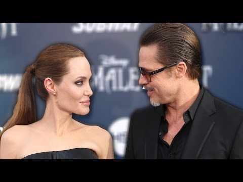 Angelina Jolie and Brad Pitt Attacked at Maleficent Premiere