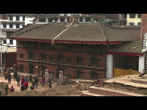 Kathmandu's 'living goddess' survives quake