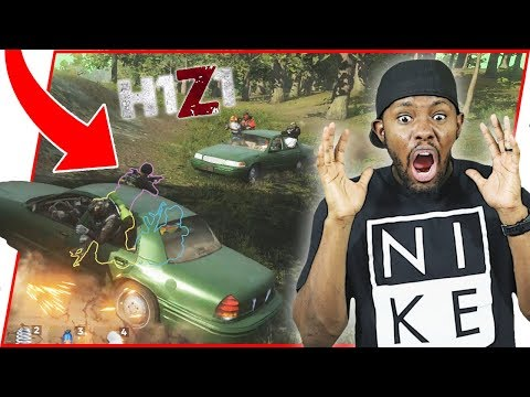 BRAND NEW VEHICLE BATTLE ROYALE! - H1Z1 Auto Royale Gameplay