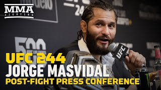 UFC 244: Jorge Masvidal Post-Fight Press Conference - MMA Fighting