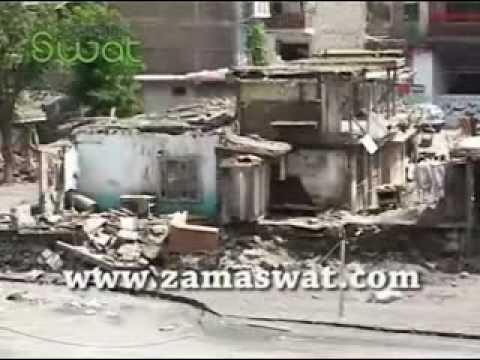 Swat Kalam Flood.flv video